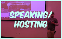 Speaking or Hosting